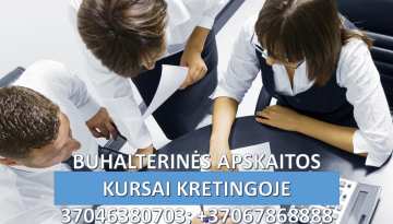 Buhalteriniai apskaitos kursai Kretingoje 1024