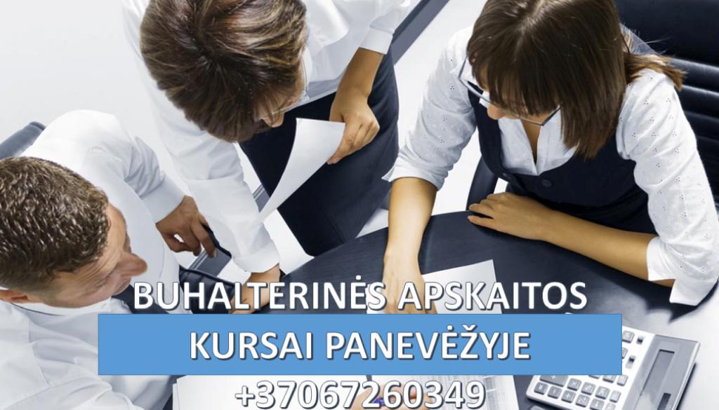 Buhalteriniai apskaitos kursai Panevėžyje 1024